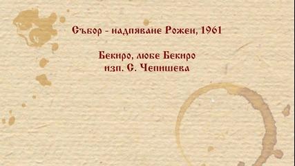 С. Чепишева - Бекиро, любе Бекиро. Рожен 1961 г.