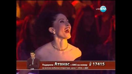 X Factor финал - Наско и Мария - второ изпълнение - 20.12.2013 г.
