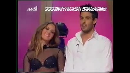 Kostas Martakis & Maria - Vals (dancing With The Stars final, 1rst Act)