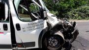 Петима ранени при тежка катастрофа на пътя Добрич-Варна