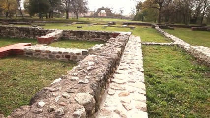 Trailer Roman Buildings Hisarya, Bulgaria