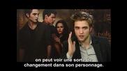 Allocine Interview with Robert Pattinson Kristen Stewart and Taylor Lautner Vostfr