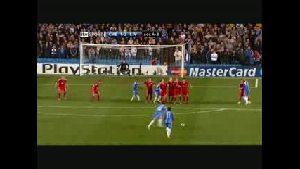 alex goal chelsea - liverpool