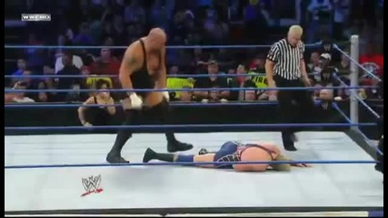 Big Show Knockout Punch To Jack Swagger