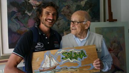 104-годишен художник от Италия се превърна в интернет сензация