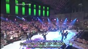 [engsubs] News - Koi no Abo & Talk 25.12.2009 [music Station Super Live]