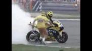 Valentino Rossi Burn - Out Gp Of Brno 2006