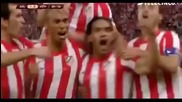 Atletico Madrid Vs Athletic Bilbao 3-0 All Highlights And Goals 09-05-12