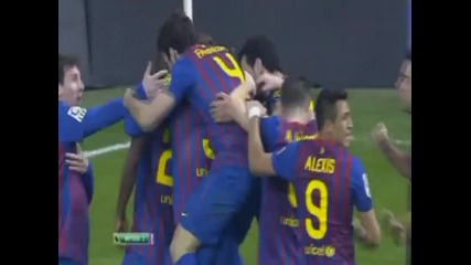 Real Madrid vs Fc Barcelona 1-2 Copa Del Rey 18/01/2012