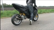 Yamaha Aerox - Roterende Inlaat __ Amazing! (rotary Valve)