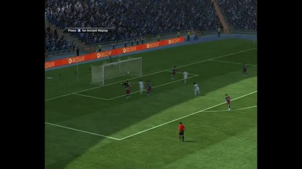 Fifa 11 - Real Madrid vs Barcelona - Goals Skills