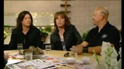 Europe - Interview with Lasse Bengtsson(nyhetsmorgon Tv4, Sweden 2009)
