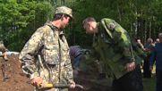 Latvia: 107 Red Army soldiers reburied at Priekule cemetery