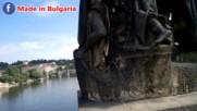 Паметник на св. св. Кирил и Методий на Карловия мост в Прага