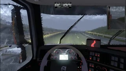 Euro Truck Simulator 2 + Logitech G25 ep2