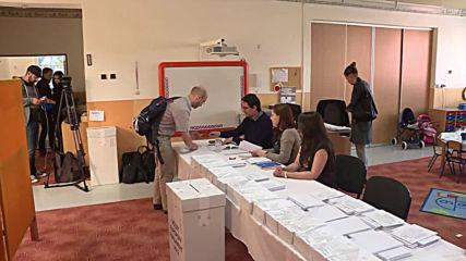Slovakia: President-elect Caputova casts vote in EU elections