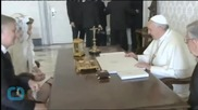 Pope Francis Extends Agenda of Change to Vatican Diplomacy