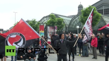Germany: Thousands hit central Hamburg despite far-right demo ban