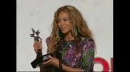 Beyonce - Best Female R&b Artist & Best Video Of The Year (2009 Bet Awards) ( Високо Качество )
