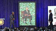 Във Вашингтон показаха официалните портрети на Мишел и Барак Обама
