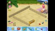 Barbie - beach vacation (пясъчен замък)