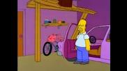 Един от най-смешните моменти на Хоумър Симпсън (част 1) (смях)
