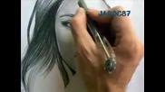 Рисунката направо оживя! Епизод 2 Портрет на Miley Cyrus