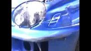 Drift На Subaru Sti И Удар В Стената