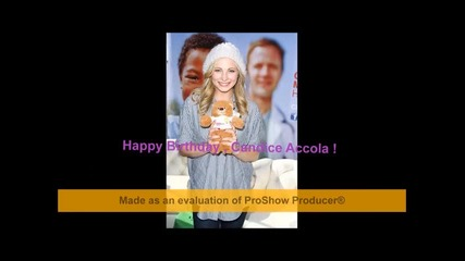 # Happy Birthday , Candice Accola! # Full Collab #
