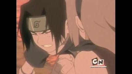 Sasuke & Sakura (green Day)