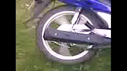Skuter Honda Virtene Na Guma