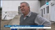 Кирково се надява на помощ от държавата след градушката