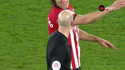 Саутхемптън с втори гол във вратата на Дарби