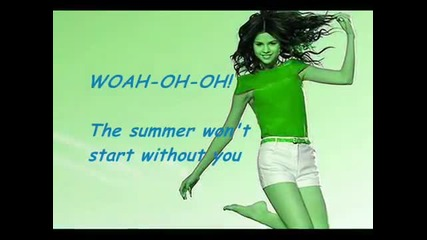 Selena Gomez-summer's not hot -- sub