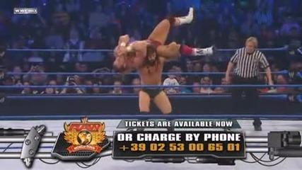 W W E Крис Майстора срещу Тайлър Рекс / Разбиване