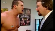 Raw 07/06/09 Ted Dibiase удря шамар на баща си..