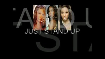 Just Stand Up - Lyrics