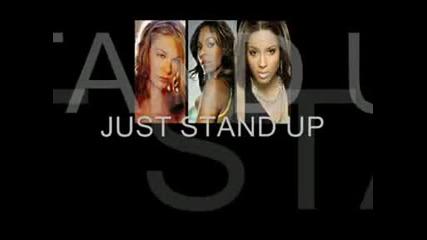 Just Stand Up - Lyrics