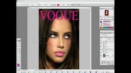 Makeover Adriana Lima