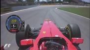 Старта на Фернандо Алонсо при Гран При на Барселона Hd
