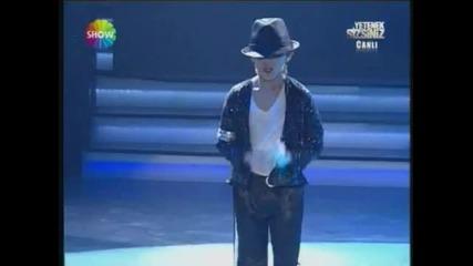 The Little Michael Jackson