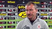 Стамен Белчев: Вкарахме си и двата гола