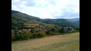 Панорама на село Говежда, изглед от север.