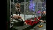 Wwe Raw - Кейн срещу Снитски - Мач в Клетка(2005)