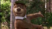 2/5 Мечето Йоги * Бг Аудио * комедия (2010) Yogi Bear # Warner Bros. [ hd ]