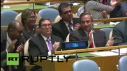 UN: UNGA votes against US blockade of Cuba 191-2