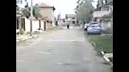 Падане с колело бодрово