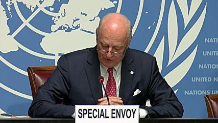 Switzerland: 'Extra mile to go' - de Mistura on Syrian constitutional committee