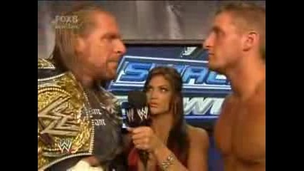 Triple H Interview W/Еve & Kenny 15.08.08