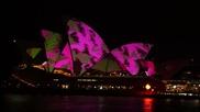 Страхотно светлинно шоу на операта в Сидни!